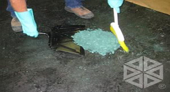 absorbent foam application