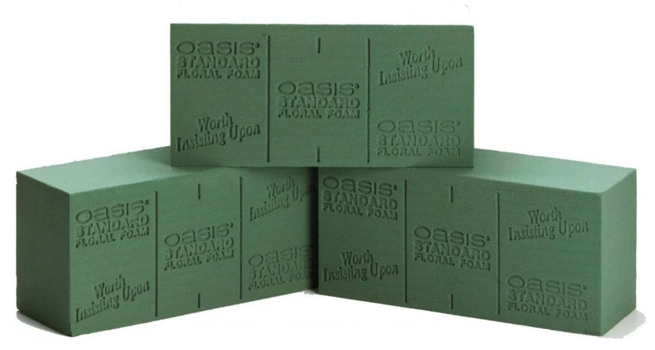 floral foam Smithers Oasis Engineered Products