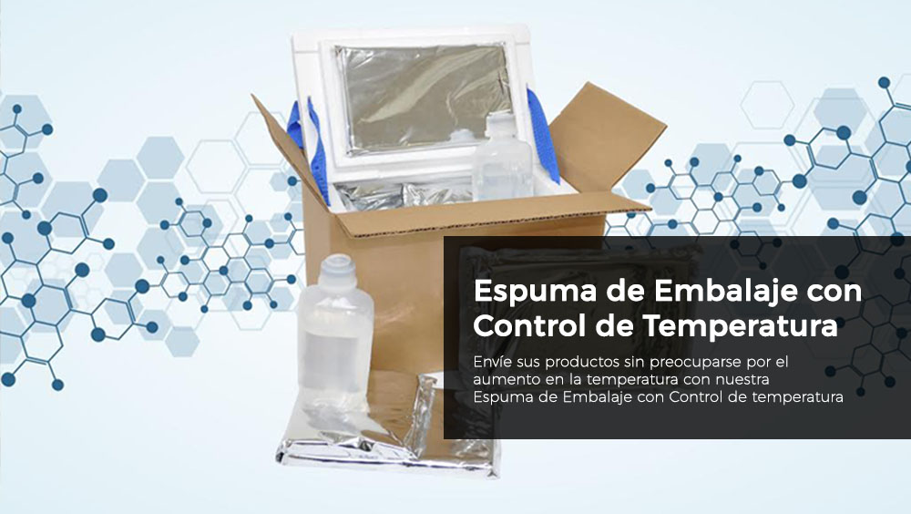 Espuma De Embalaje Con Control De Temperatura